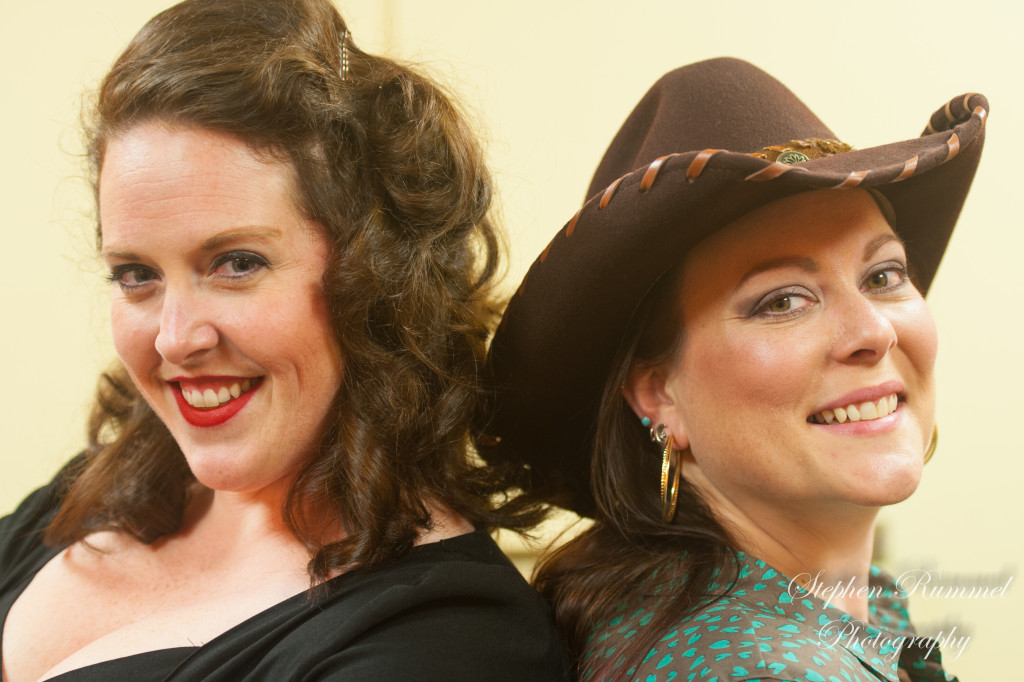 "Katy Benko and Ivy Elizabeth in Fauquier Community Theatre's ""Always...Patsy Cline"""