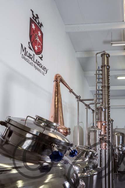 Ribbon cutting at Murlarkey Distilled Spirits