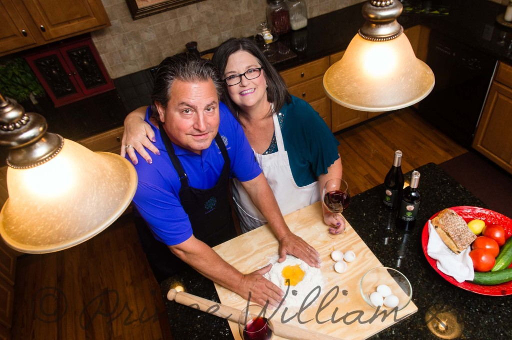 George and Linda Meyers combined their love of cooking, travel and history into their Cook in Tuscany destination vacation business.