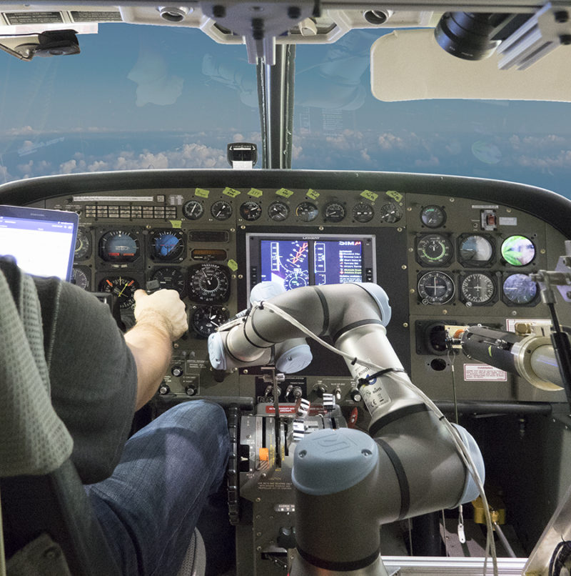 Watch a Robot Co-Pilot Fly a Cessna