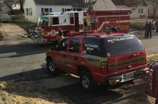 Fire at 118 Baker St., Manassas park