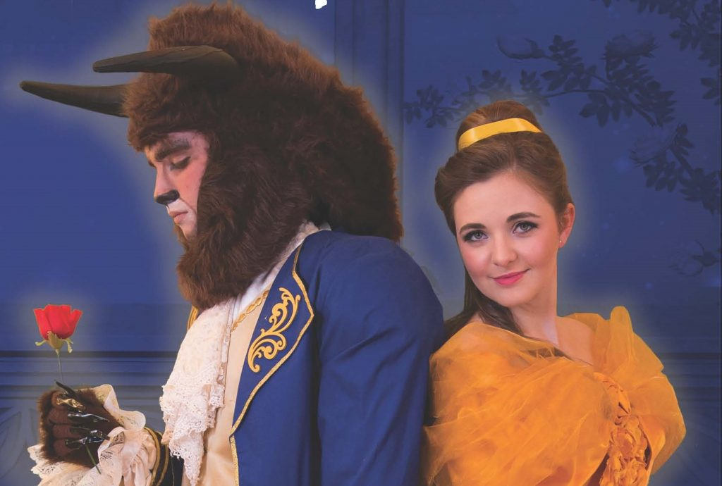 Nathan Yannarell As The Beast And Adele Williams Belle