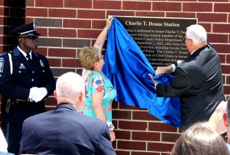 Charlie T. Dean Police Station Opening