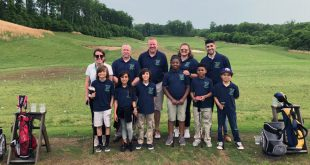 Covington Harper Elementary School golf team