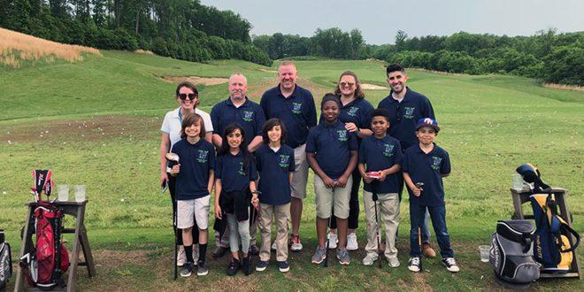 Covington Harper Elementary School golf team