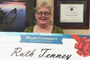 Ruth Tenney Walden University scholarship