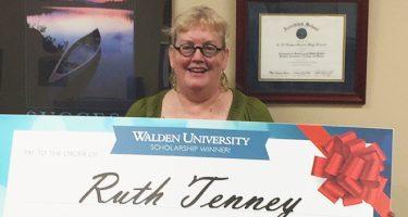 Ruth Tenney Walden University scholarship