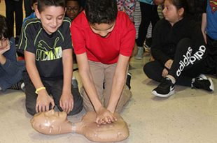Rosa Parks Elem students learn CPR