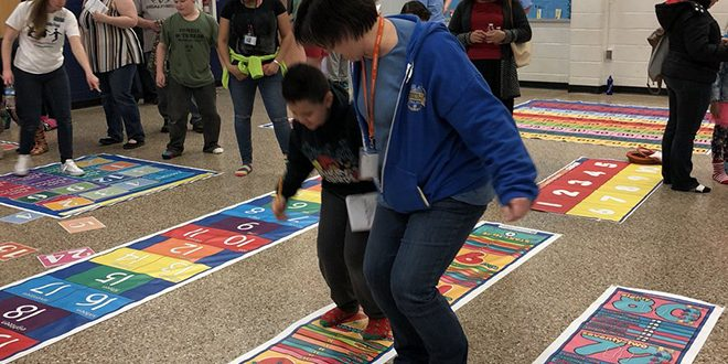 Bel Air Elem gets $5000 grant from Lowe's gives Foundation for Math & Movement