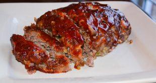 Firehouse Foodie brown sugar glazed meatloaf