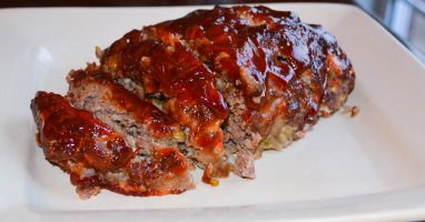 Firehouse Foodie brown sugar glazed meatloaf