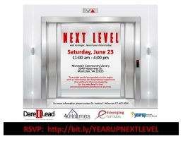 Next Level Workshop, Year Up, Northern Virginia Community College, Emerging NuVision, Dare II Lead, 4K Holmes