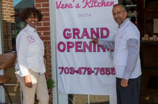 Vera's Kitchen owners Veronica and Adiam