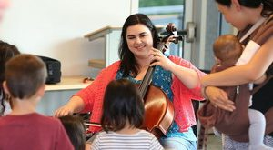 Old Bridge Chamber Orchestra plays for Musical Instrument Petting Zoo