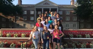 PWCS students at Governor's School at Radford 2018