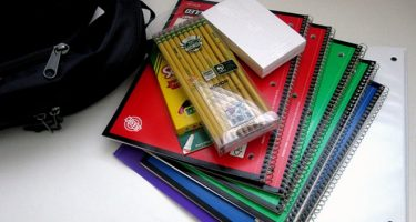 school supplies SPARK drive summer 2018