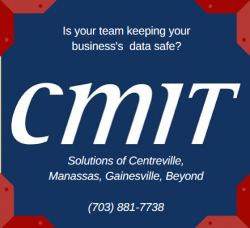 CMIT Centreville, IT Services Manassas, Gainesville, Haymarket, Chantilly, Cyber Security, Server Systems