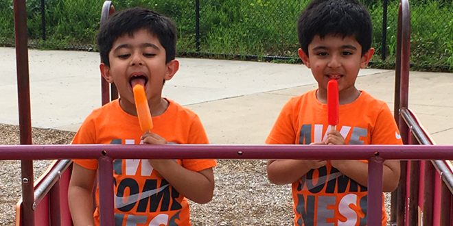 Popsicles on the Playground