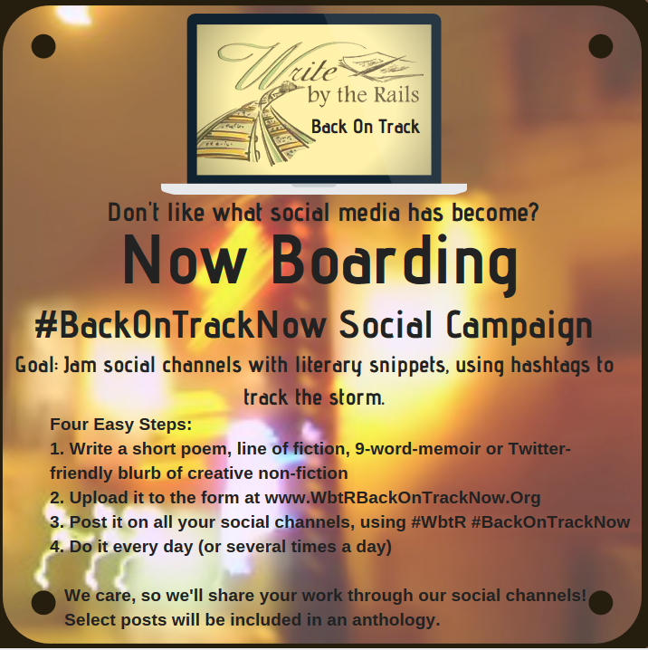 Write by the Rails, WbtR, Social Media Campaign, Submissions, Anthology