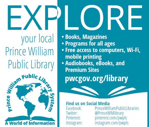 Prince William County Public Library, Books, Magazines, Programs