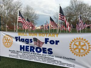 Lake Ridge Rotary, Flags for Heroes