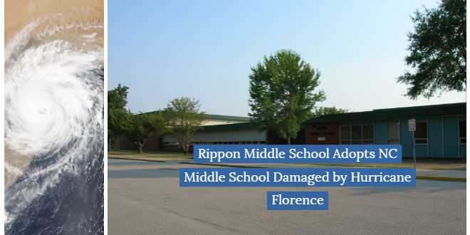 Rippon middle school pwcs hurricane florence help