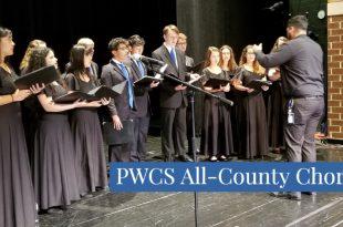 PWCS all county chorus music programs choral music