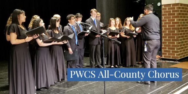 PWCS all county chorus music programs choral music