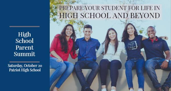 parent summit pwcs patriot high school