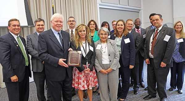 Prince William County Service Authority 2018 Baldrige Luncheon service quality award