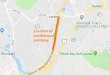 I-95 southbound Lorton Road Route 1 lane closures Virginia Department of Transportation