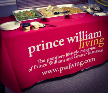 Lunch with the Publisher Rebecca Barnes Okras Prince William Chamber