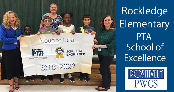 rockledge elementary school pta national school of excellence 2018-2020 pwcs