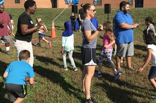 Henderson Elementary School, Jog-a-Thon, fitness, literacy