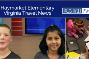 PWCS, Haymarket Elementary, travel news show