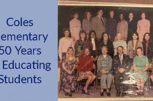 Coles Elementary School, 50th anniversary, Prince William County Schools (PWCS)