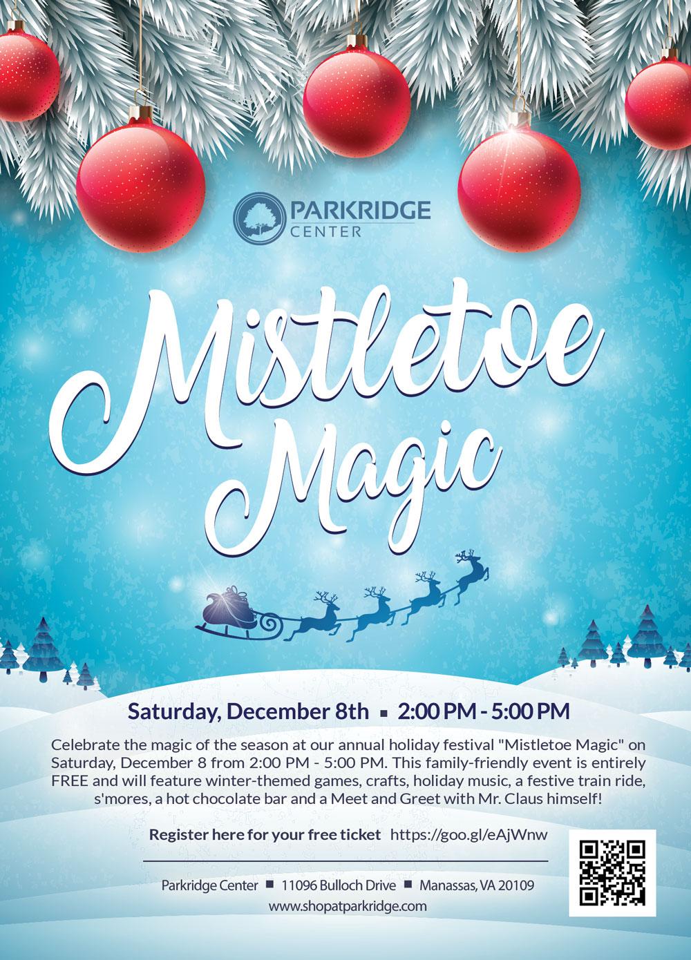 Mistletoe Magic Holiday Festival, Parkridge Center