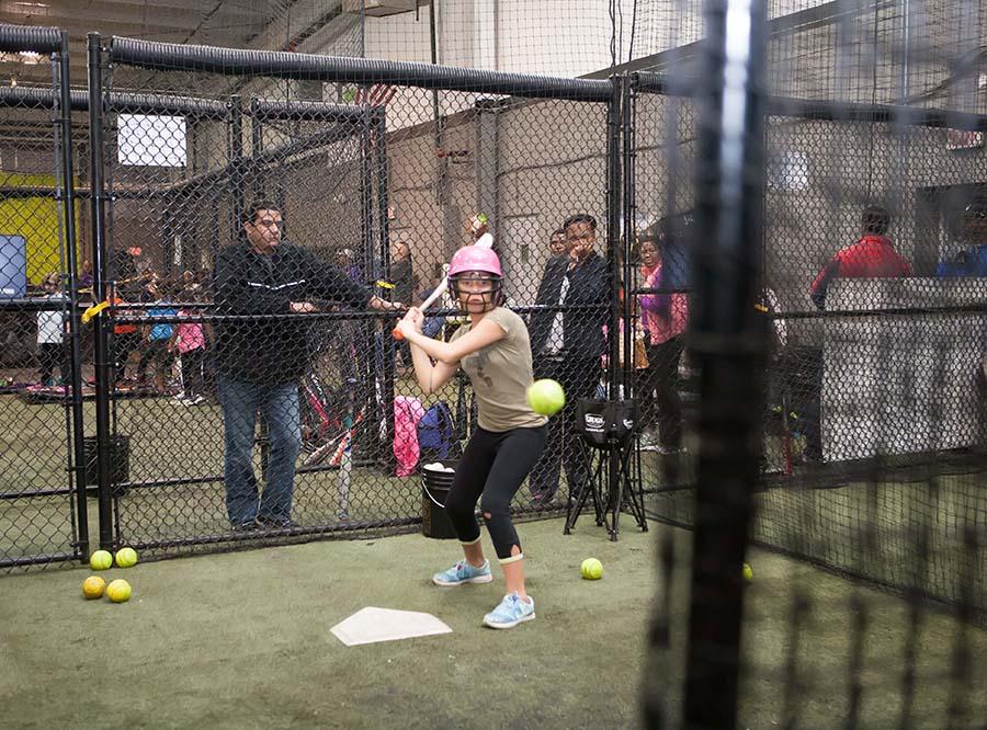 Competitive Edge, batting cage, off season training