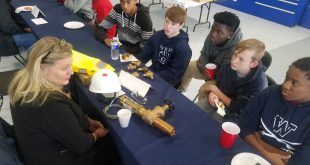 CTE, Osbourn High School, DOughnuts with Engineers,