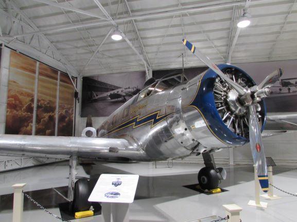 Shannon Air Museum, Fredericksburg VA, VUltee v1a