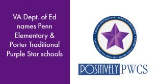 Purple Star Schools, Penn Elementary, PWCS, Porter Traditional