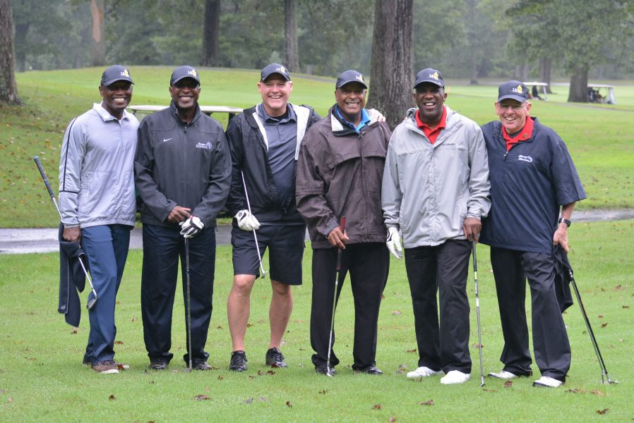 Young Marines, golf tournament Sergeants Major